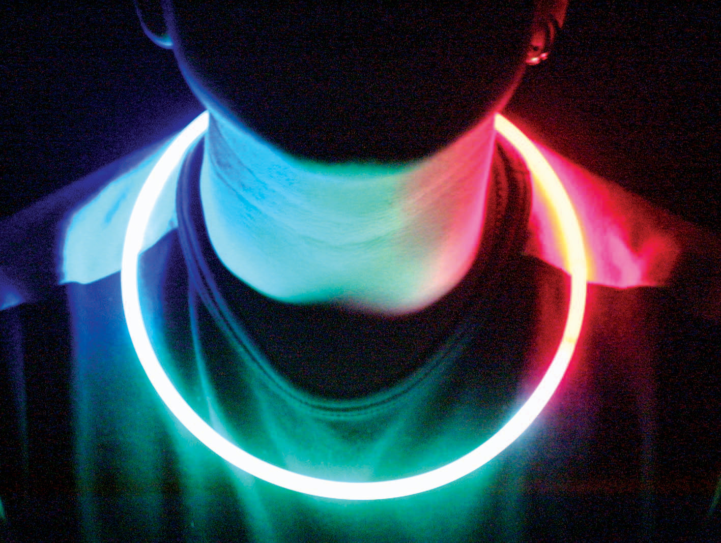 Assorted Color Glow Stick Necklaces (50 Piece Pack)