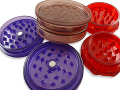 Herb Grinders - Assorted Economy Acrylic Herb Grinder
