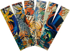 Tattoo Sleeves - Assorted Tattoo Sleeves (3 Pair of Assorted Tattoo Sleeves)