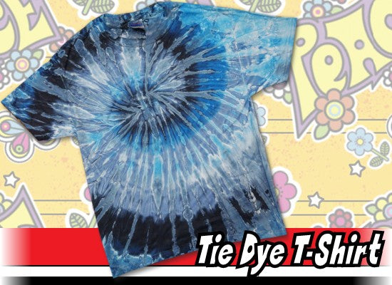 Evening Sky Tie Dye Mens T-Shirt