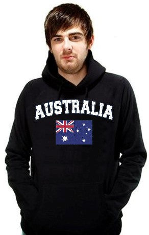 Australia Vintage Flag International Hoodie