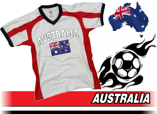 Australia Vintage Flag International Sport Tee