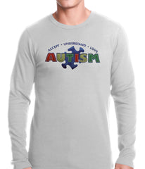 Autism Awareness - Accept, Understand, Love Thermal Shirt
