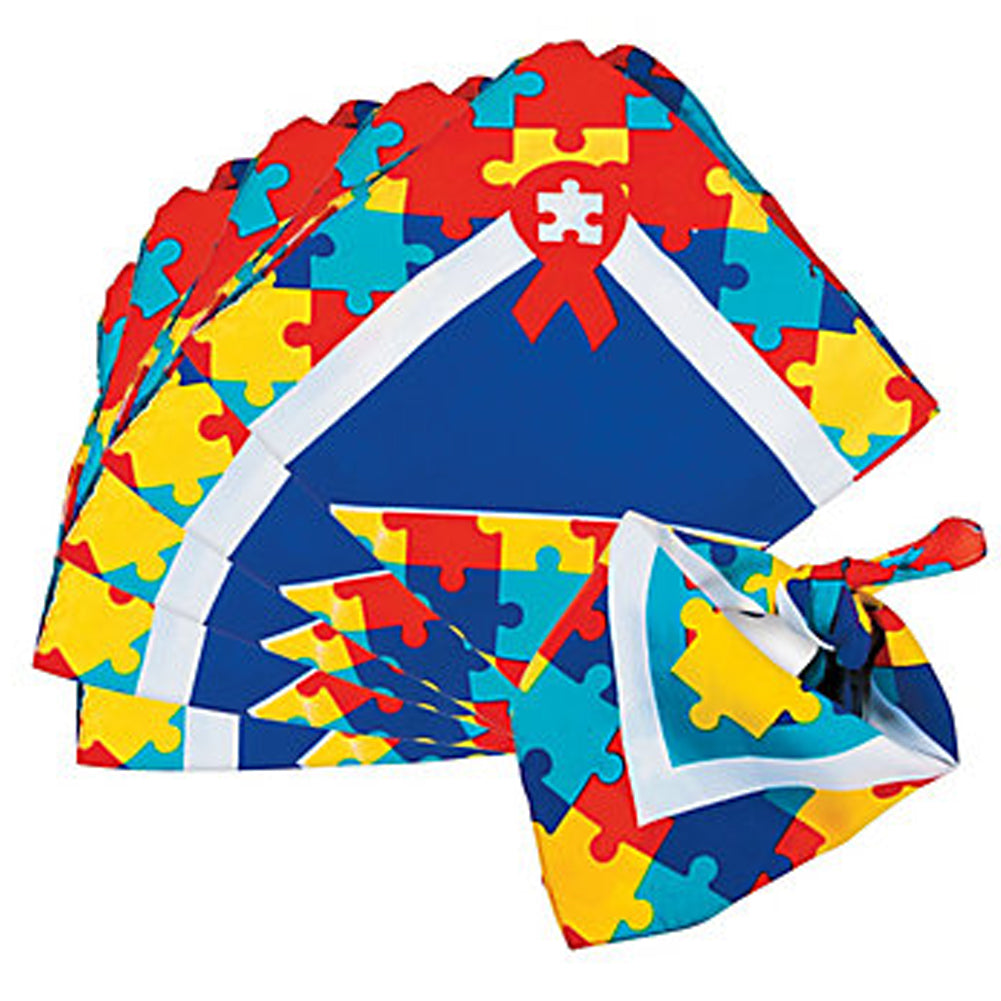 Autism Awareness Bandanas
