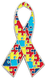Autism Awareness Lapel Pin