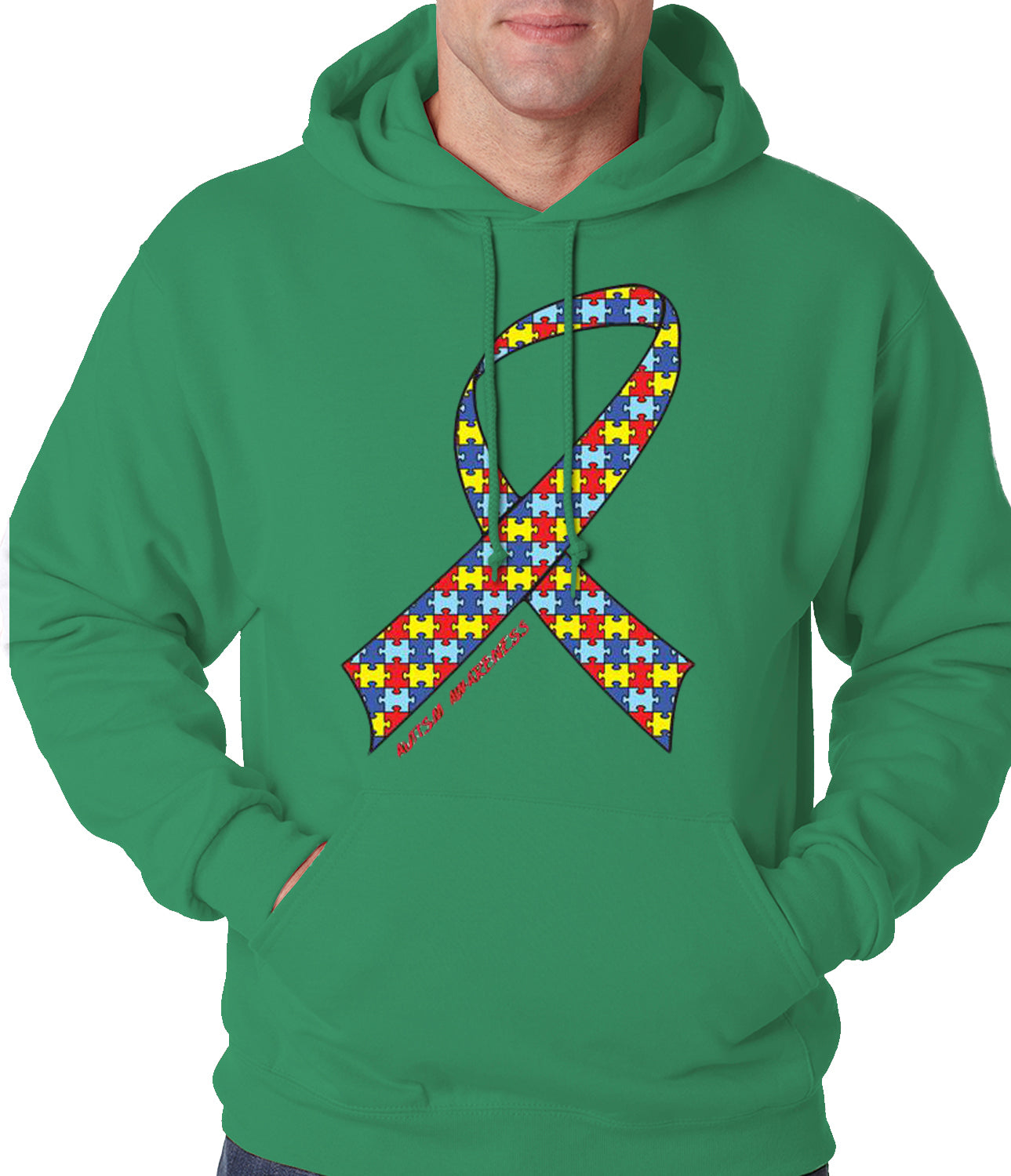 Autism Awareness Ribbon Hoodie