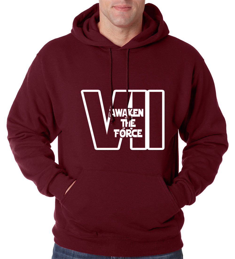 Awaken The Force VII Adult Hoodie