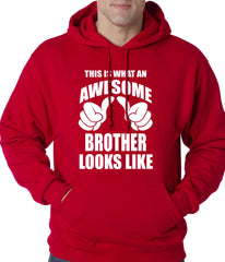 Awesome Brother Adult Hoodie