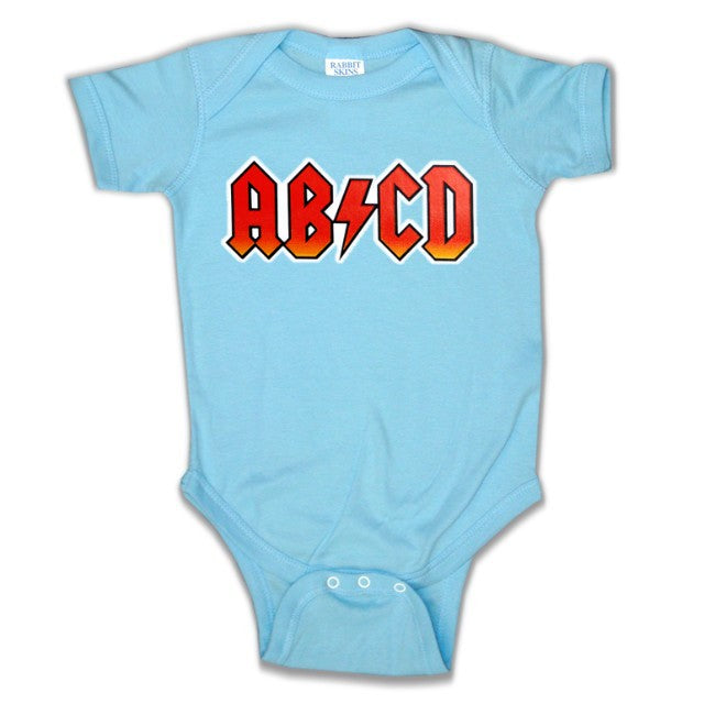 Baby Onesies -  AB/CD Rock & Roll Onesie