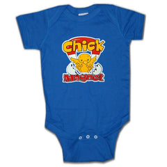 Baby Onesies - Chick Magnet Onesie Royal Blue