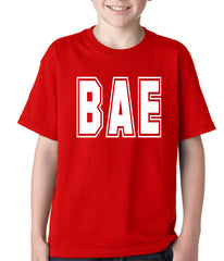 BAE Before All Else Kids T-shirt Red