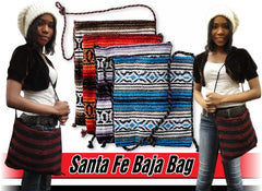 Authentic Santa Fe Baja Tote Bag