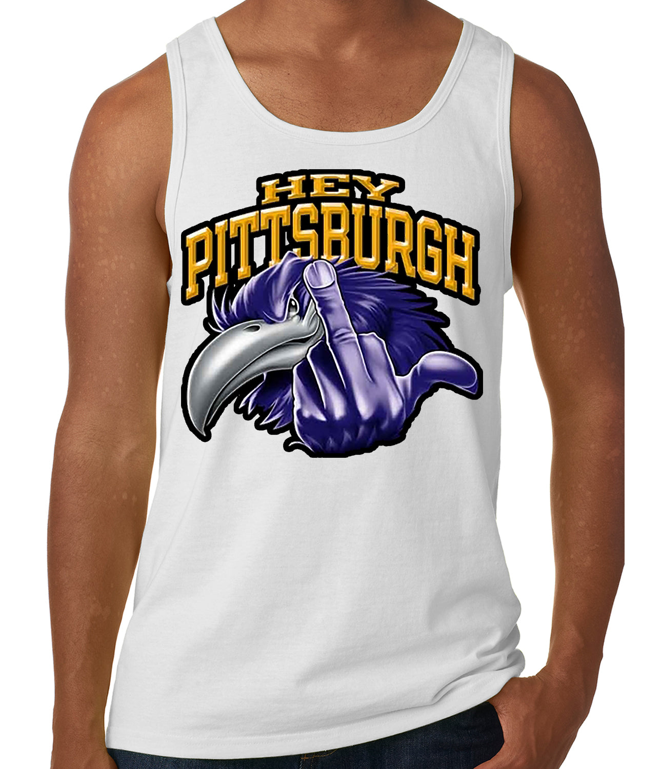Baltimore Fan - Hey Pittsburgh Tank Top