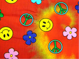 Bandanas - Happy Hippie Retro Bandanna