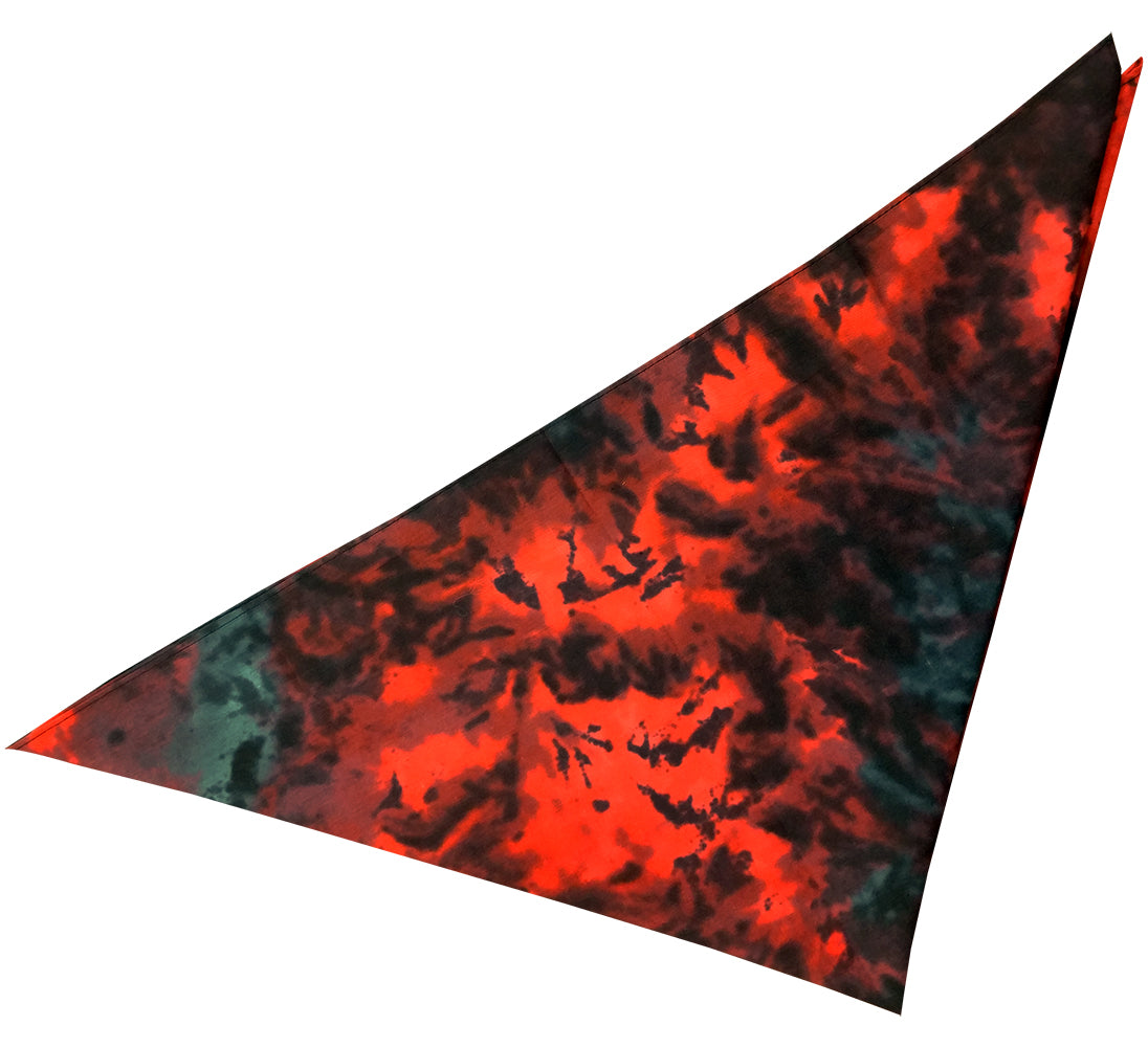 Red Tye Dye Bandana