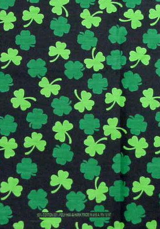 Bandanas - St Patricks Day Good Luck Clover