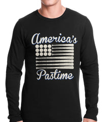 Baseball America's Pastime Thermal Shirt