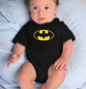 Batman Classic Logo Infant Onesies