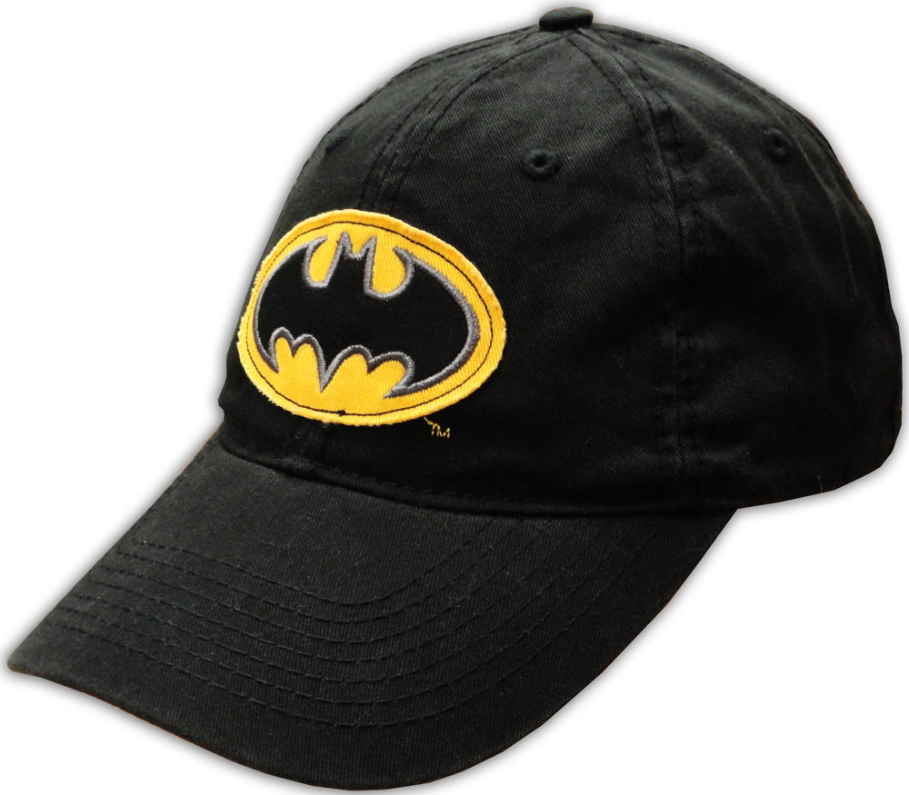 Batman Logo Adjustable Baseball Hat