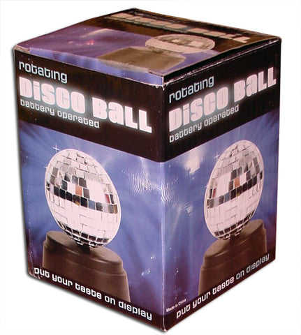 Battery Operated Mini Mirror Disco Ball with cover