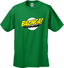Bazinga kid's T Shirt Big Bang Theory
