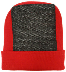 BBOY Break Dance Headspin Beanie (Red / Black)