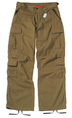 BDU Paratrooper Army Cargo Fatigues (Russet Brown)