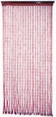 Beaded Curtains - Pink Bamboo
