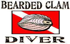 Bearded Clam Diver T-Shirt
