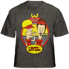 "Beavis and Butthead ""Fast Food"" T-Shirt"
