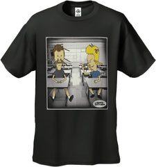 "Beavis And Butthead ""Homeroom"" Men's T-Shirt"