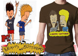 "Beavis and Butthead ""Who is This!"" Vintage T-Shirt"