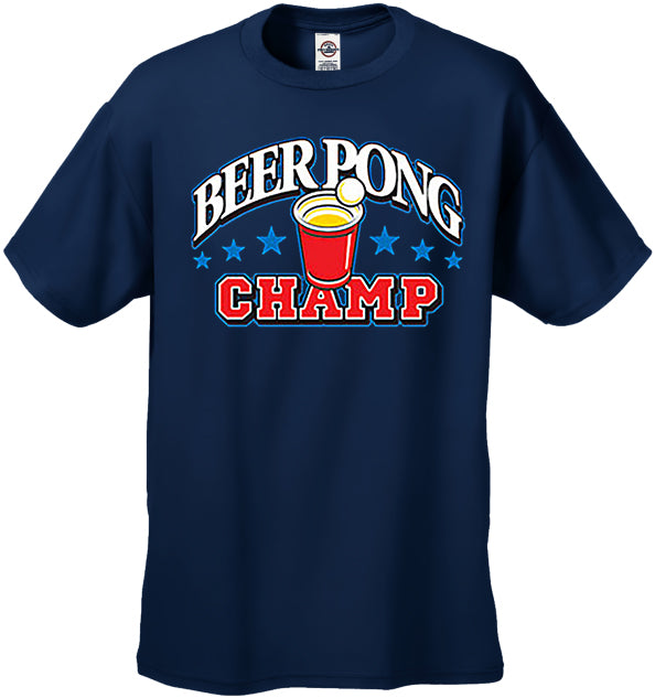 Beer Pong Champ T-Shirt
