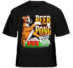 "Beer Pong ""Mark Your Territory"" T-Shirt"