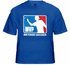 "Beer Pong  MVP ""Most Valuable Player"" T-Shirt"