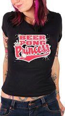 Beer Pong Princess Girls T-Shirt