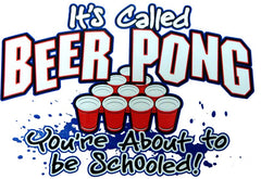 Beer Pong - You're About To Get Schooled Hoodie