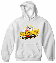 Beerzinga! - Big Bang Theory Parody Adult Hoodie
