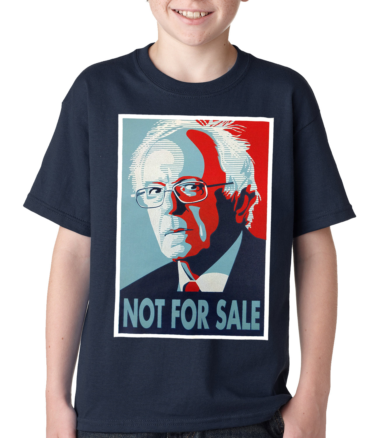 Bernie Sanders - Not For Sale - Election 2016 Kids T-shirt Black