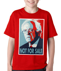 Bernie Sanders - Not For Sale - Election 2016 Kids T-shirt red