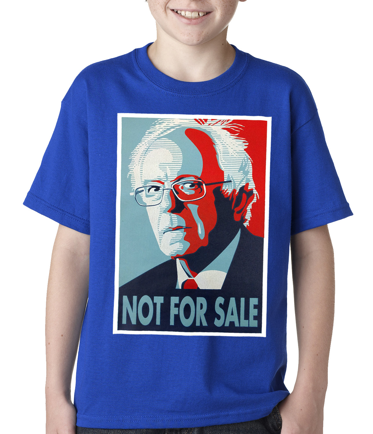 Bernie Sanders - Not For Sale - Election 2016 Kids T-shirt Royal Blue