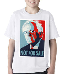 Bernie Sanders - Not For Sale - Election 2016 Kids T-shirt White