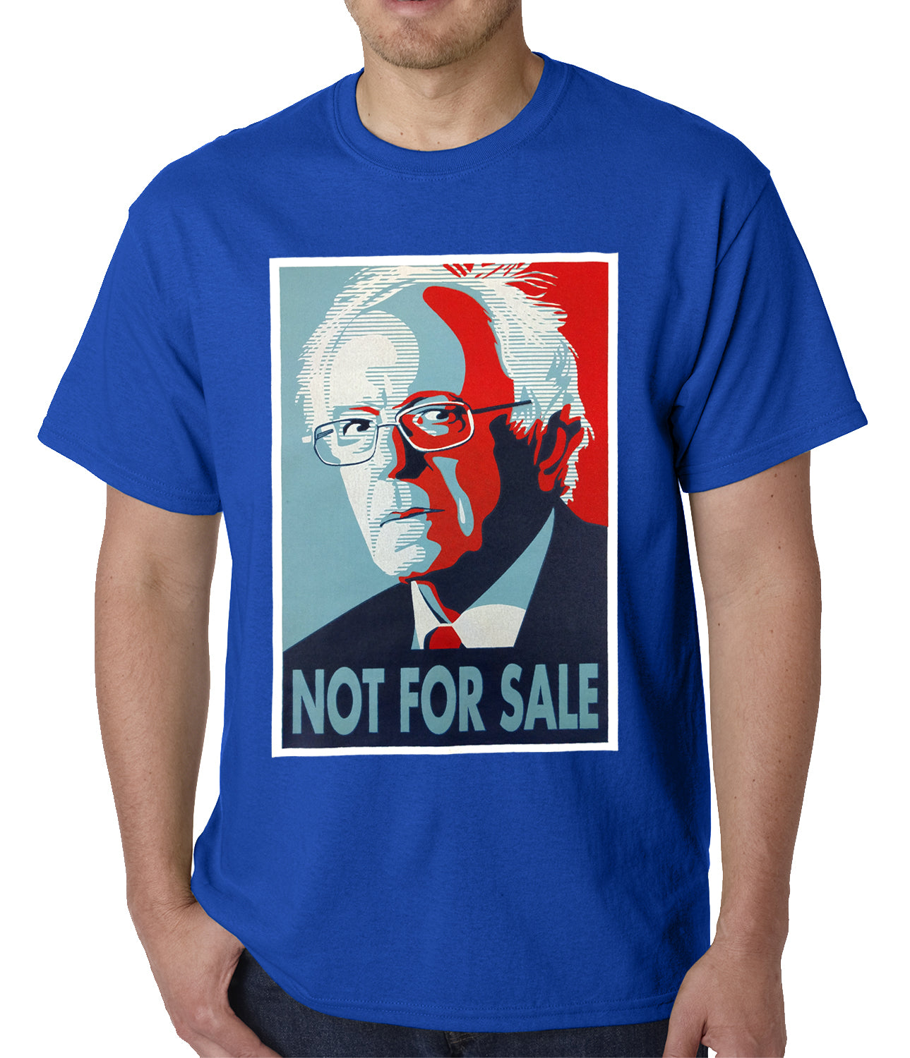 Bernie Sanders - Not For Sale - Election 2016 Mens T-shirt
