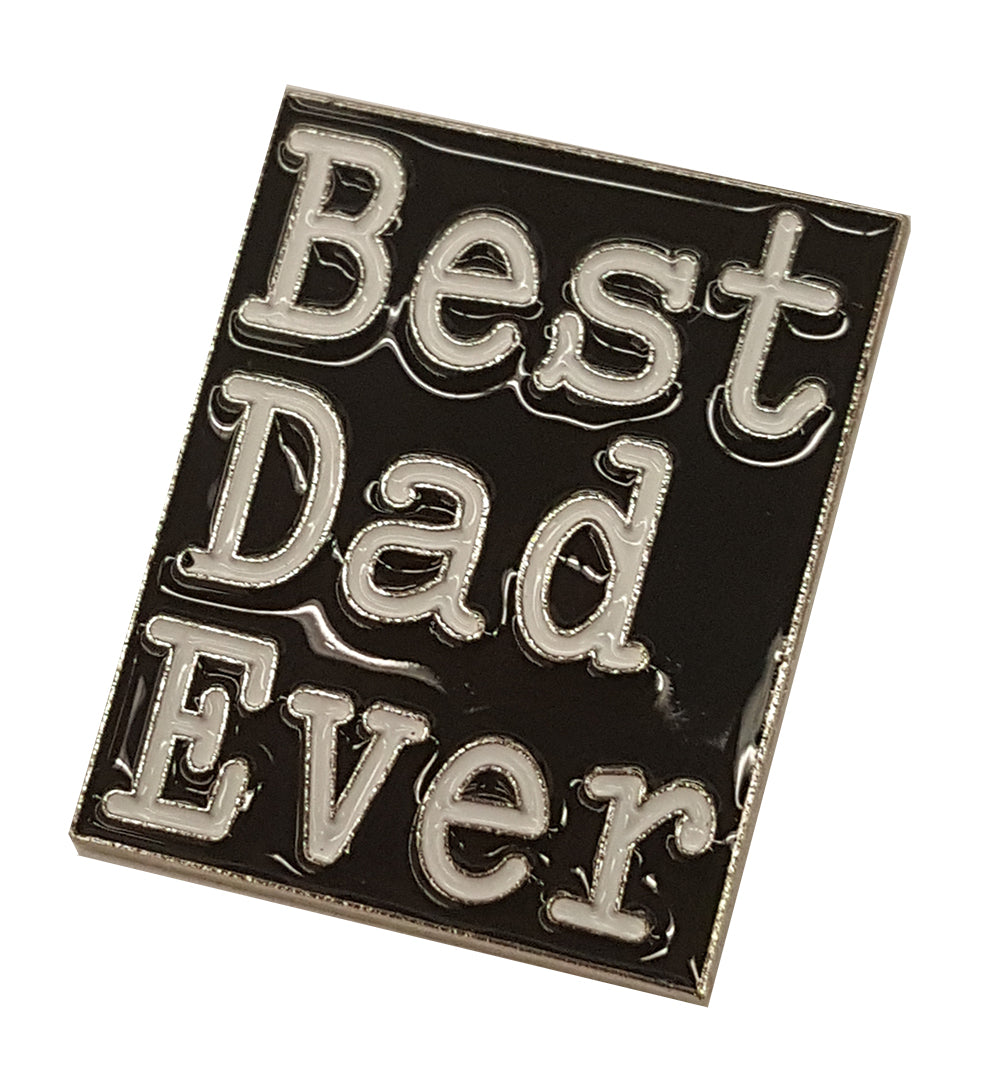 Best Dad Ever Lapel Pin