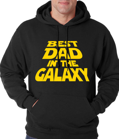 Best Dad in The Galaxy Adult Hoodie