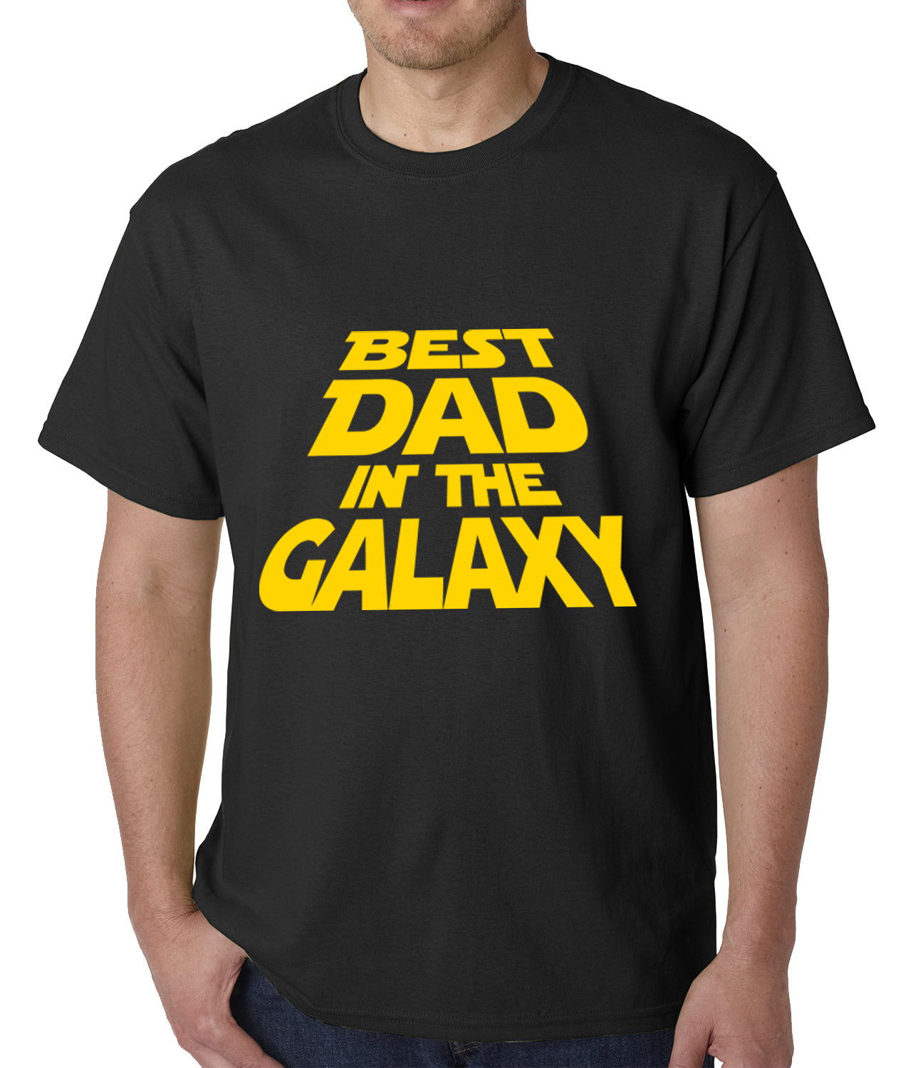 ed2c6f69 Best Dad in The Galaxy Mens T-shirt – Bewild
