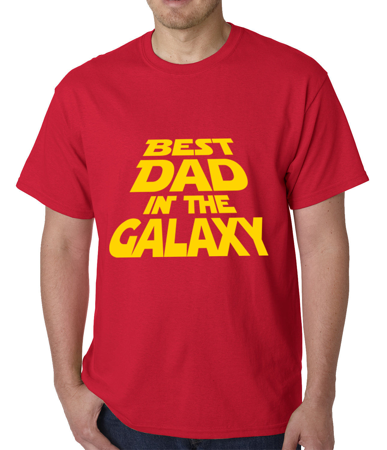 Best Dad in The Galaxy Mens T-shirt