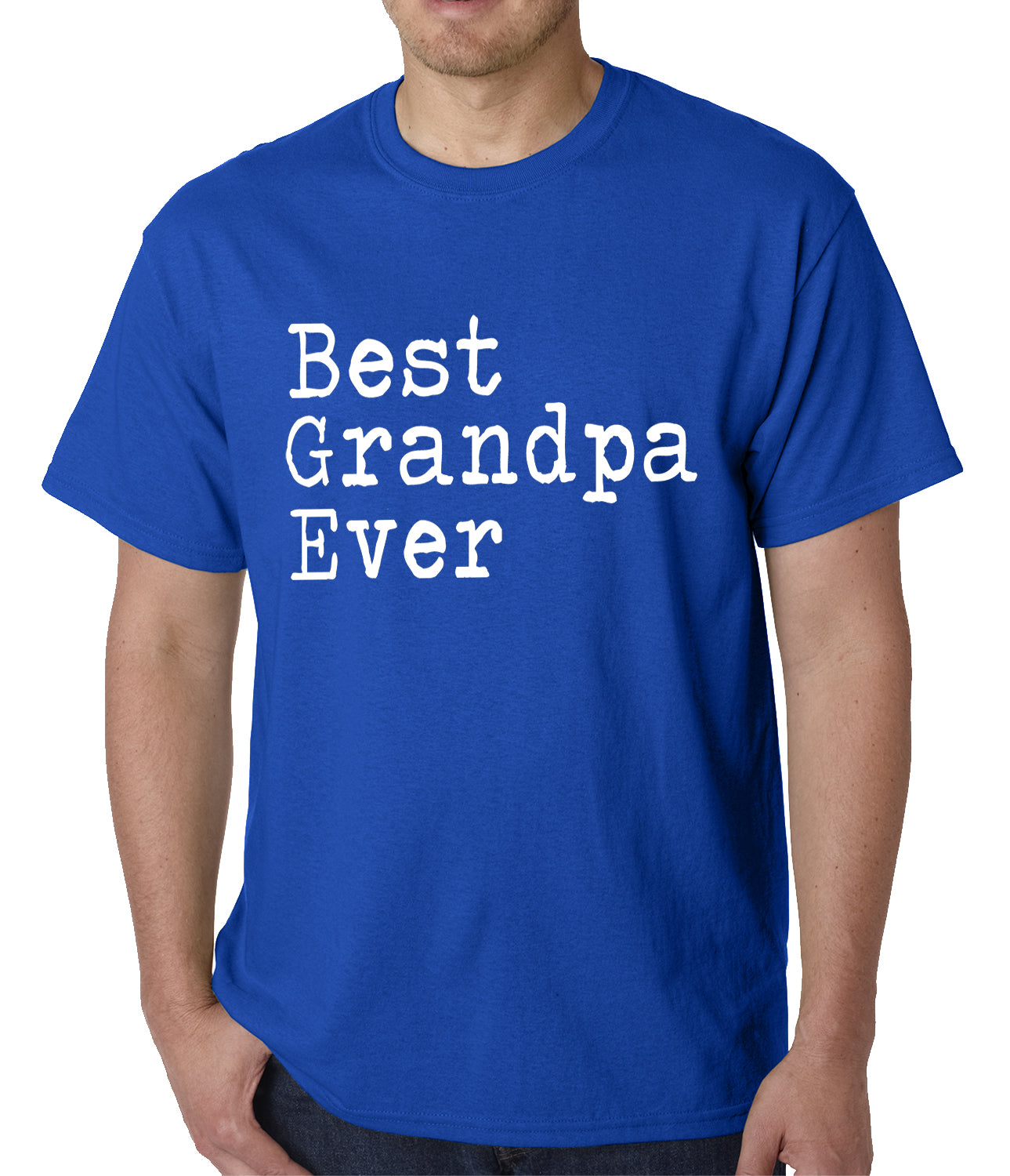 Best Grandpa Ever Mens T-shirt