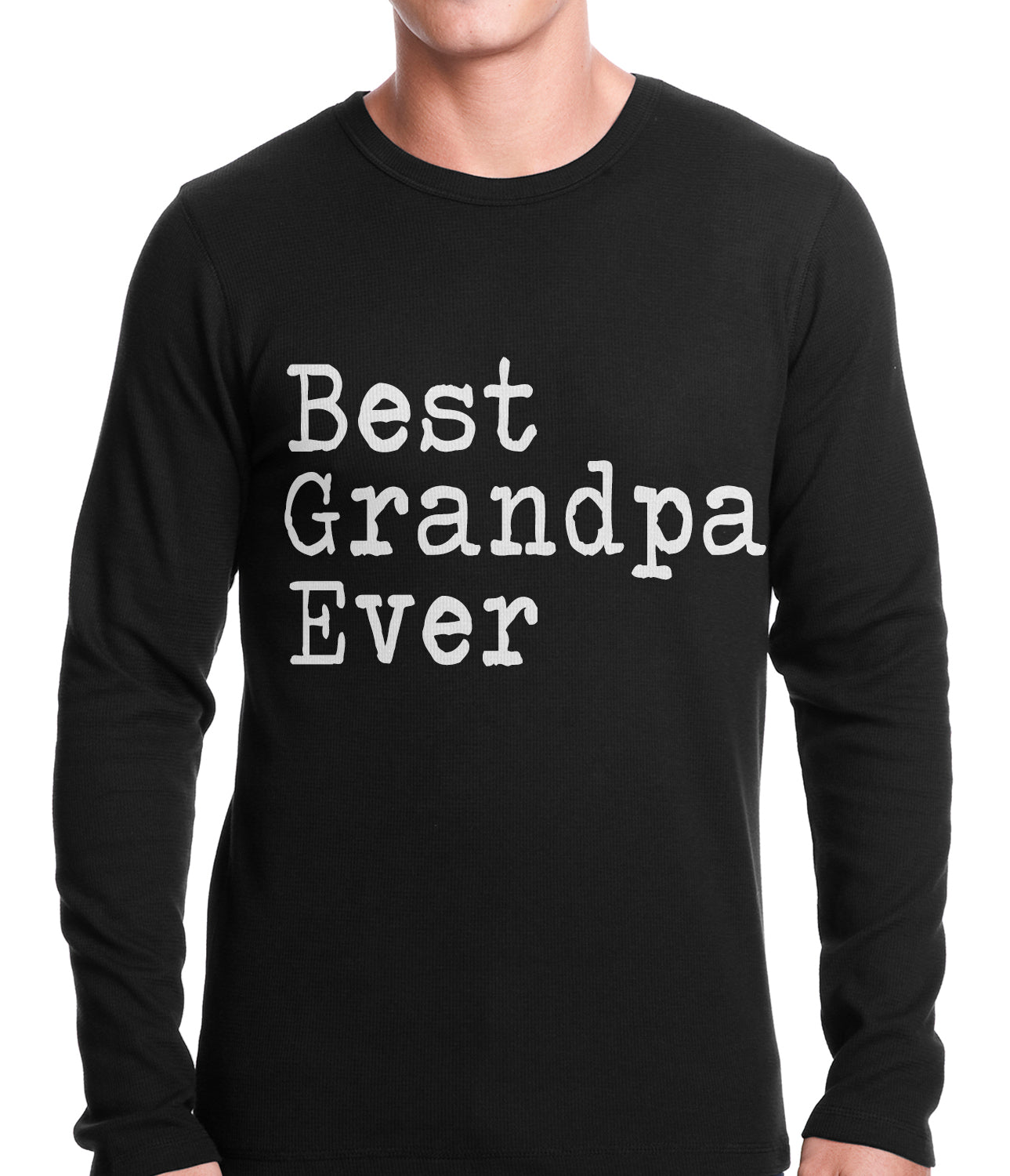 Best Grandpa Ever Thermal Shirt