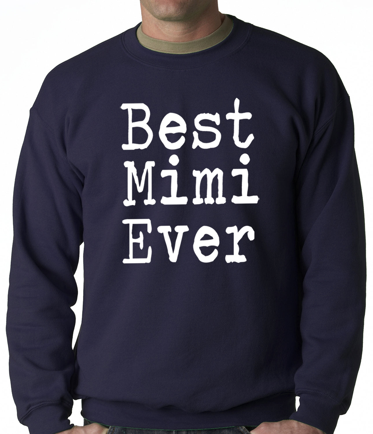 Best Mimi Ever Adult Crewneck